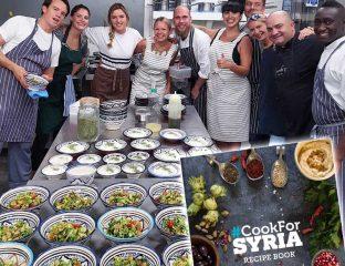 #cookforsyria-london-food-month