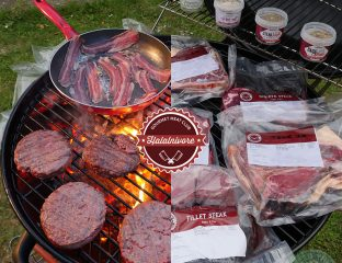 Halalnivore Halal Gourmet Meat Club BBQ Burger Steak