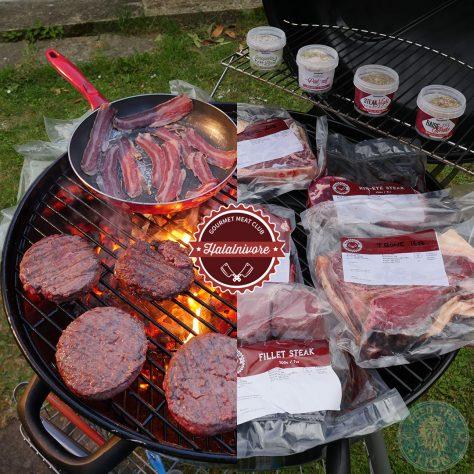 Halalnivore Halal Gourmet Meat Club BBQ Burger Steak