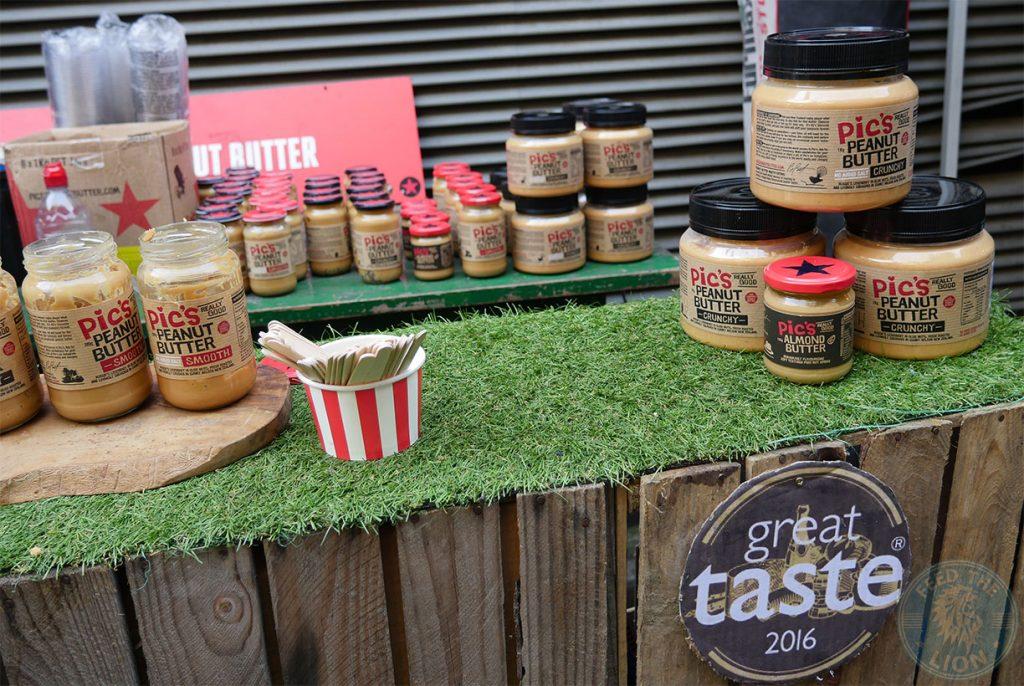 Peanut butter, London Street Food, Ropewalk, Maltby, Market, Halal Food