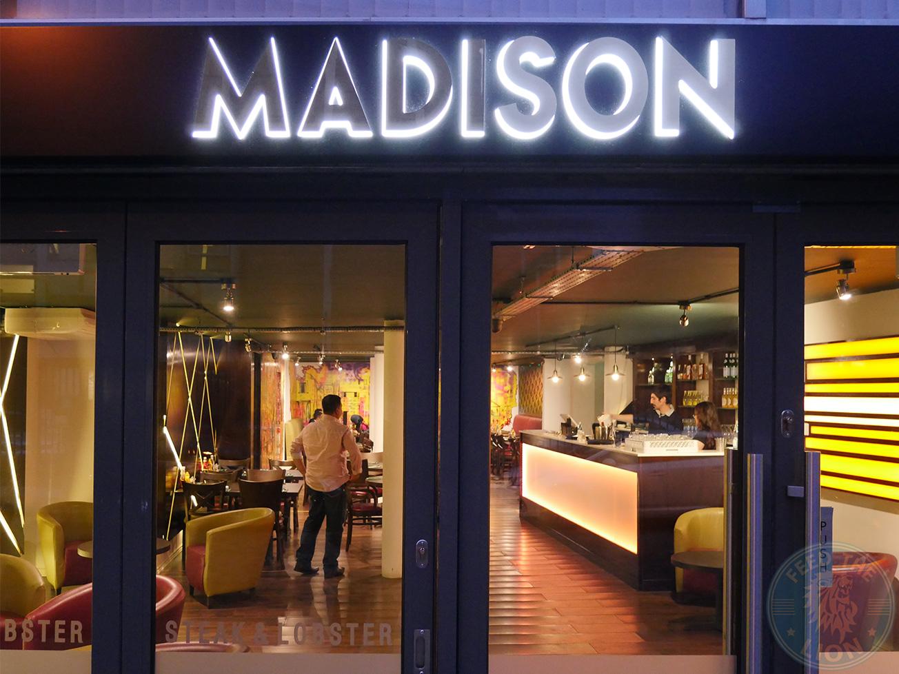 Le Madison (Steak & Lobster) - Whitechapel - Feed the Lion