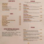 Madison Steak & Lobster - Burger Halal Whitechapple menu