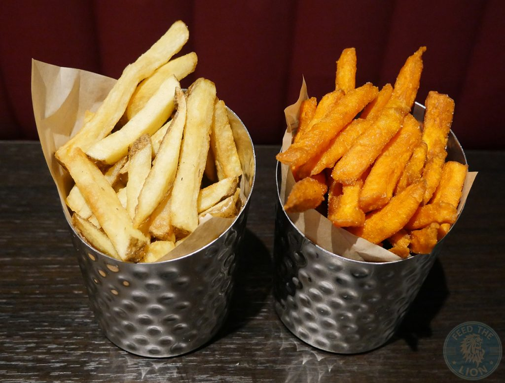 fries chips Madison Steak & Lobster - Burger Halal Whitechapel