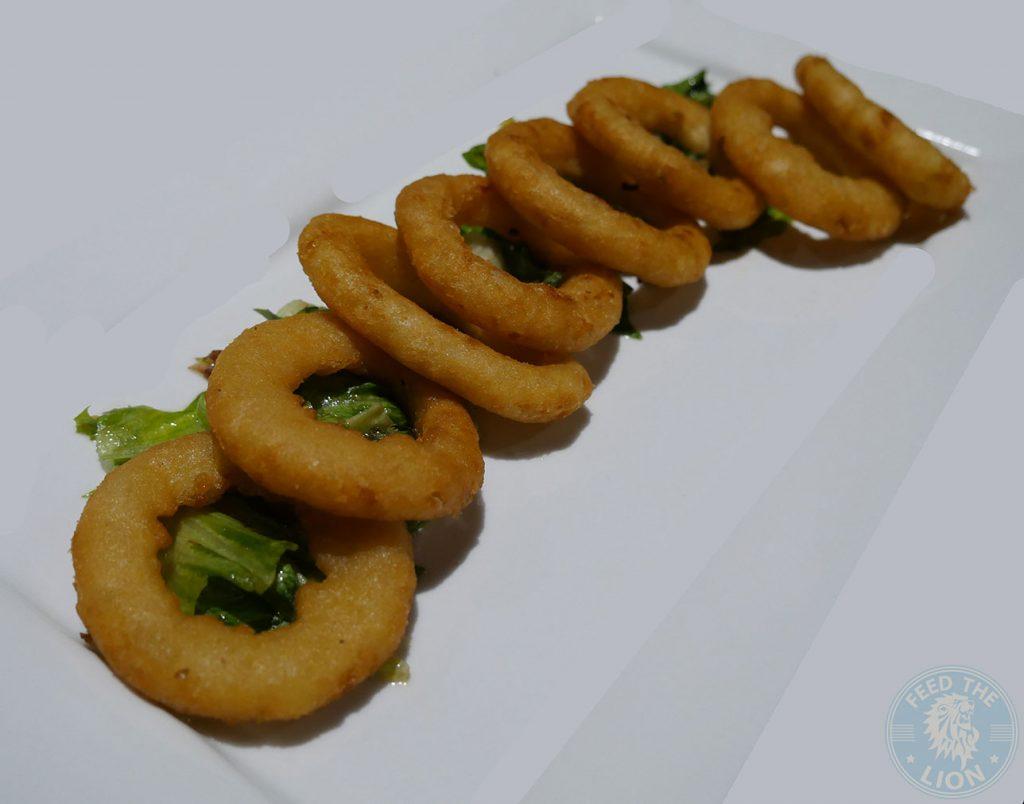 onion ring Madison Steak & Lobster - Burger Halal Whitechapel