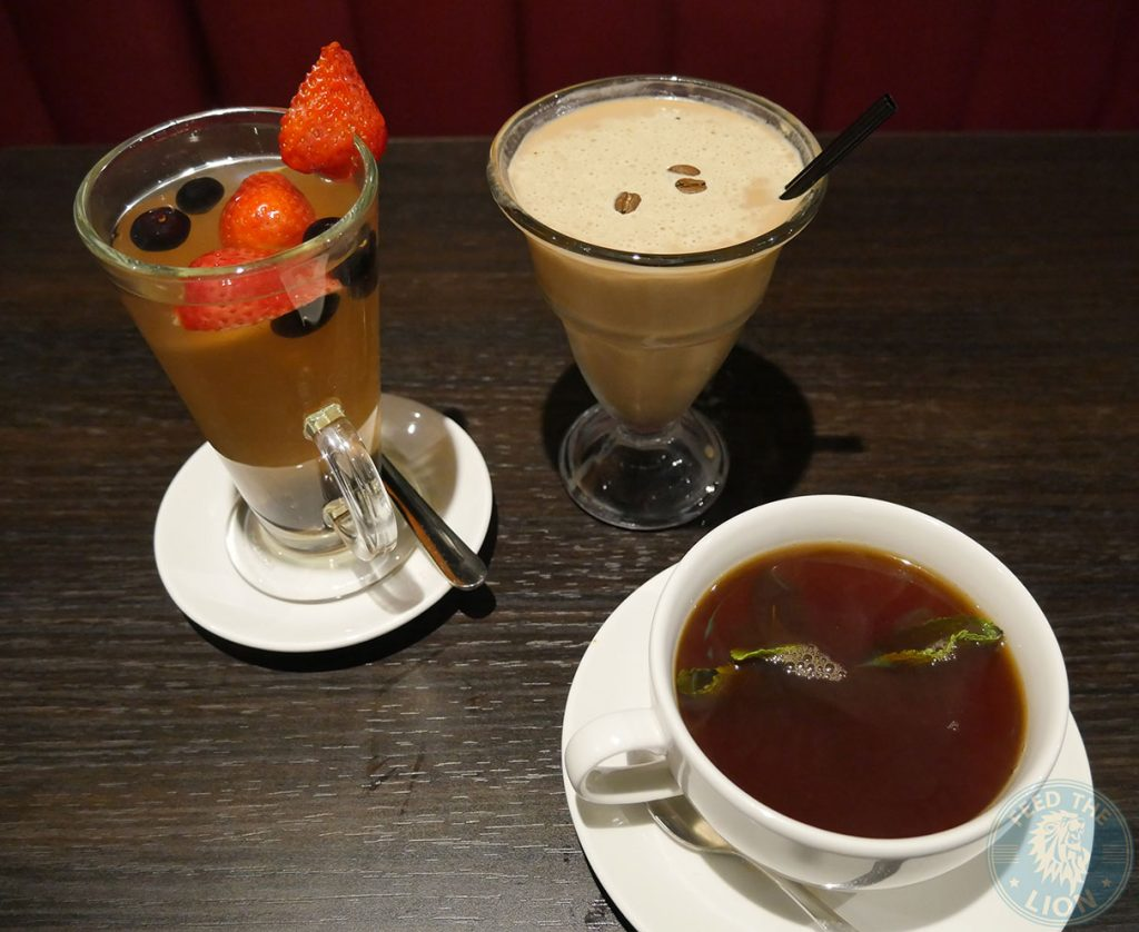 tea drink Madison Steak & Lobster - Burger Halal Whitechapple