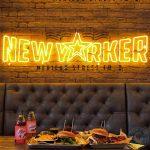 New Yorker Manchester Halal American Dinner burger
