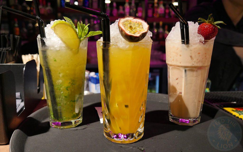 drinks mocktails Tarshish Turkish Wood Green Halal Food