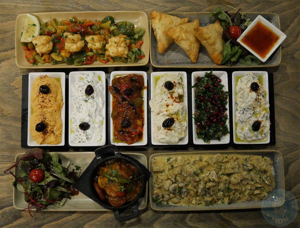 meza Tarshish Turkish Wood Green Halal Food