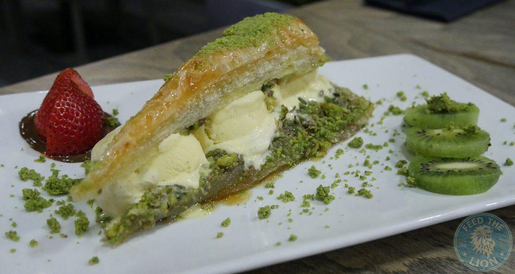 dessert Tarshish Turkish Wood Green Halal Food