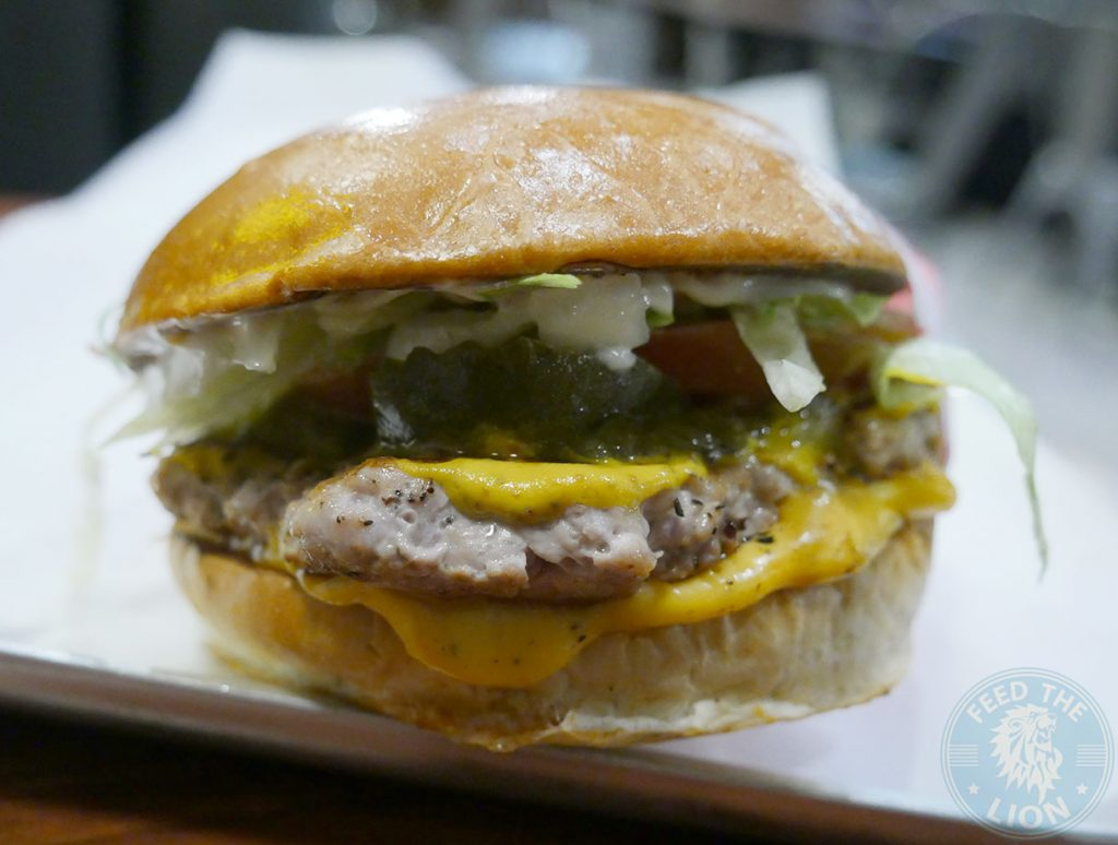 Fatburger Chicken Burger Halal Wembley American Burger