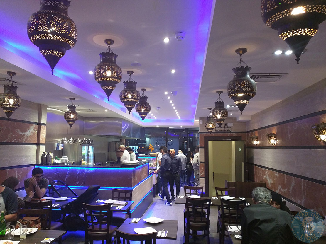 Syrian Cuisine Returns To Edgware Road With Nanerj Feed The Lion