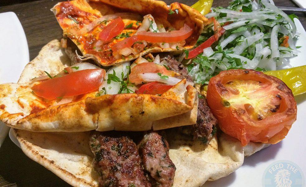 NANERJ Demascus Cusine Edgware Road London Halal Kebab