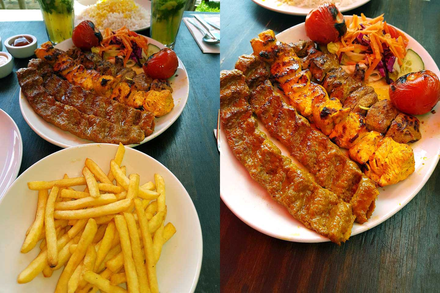 narenj-persian-kingston-mixed-grill - feed the lion