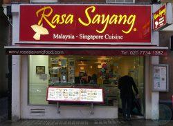 Rasa Sayang China Town Halal London Malaysian
