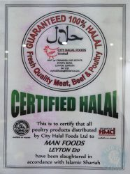 certificate Rasa Sayang China Town Halal London Malaysian Singapore Cuisine