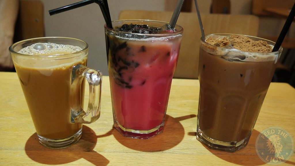 drinks Rasa Sayang China Town Halal London Malaysian Singapore Cuisine