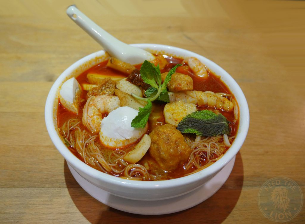 curry laksa Rasa Sayang China Town Halal London Malaysian Singapore Cuisine