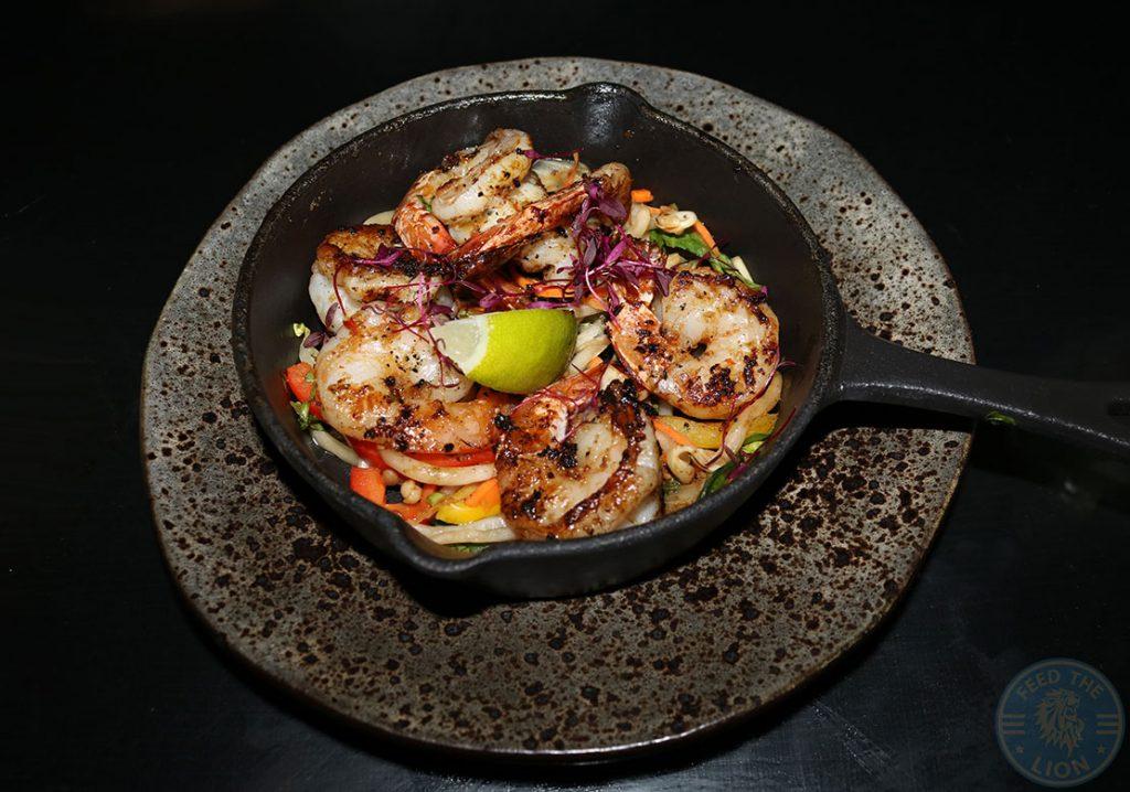 Aurous king prawns Manchester Halal restaurant