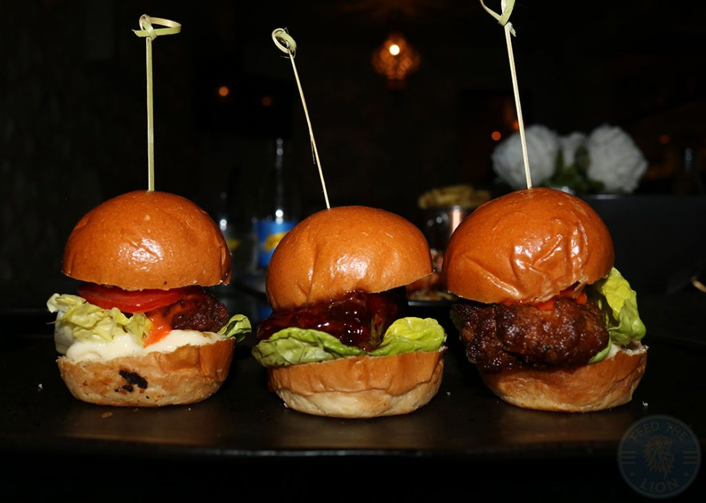 Aurous Burger Sliders Manchester Halal restaurant