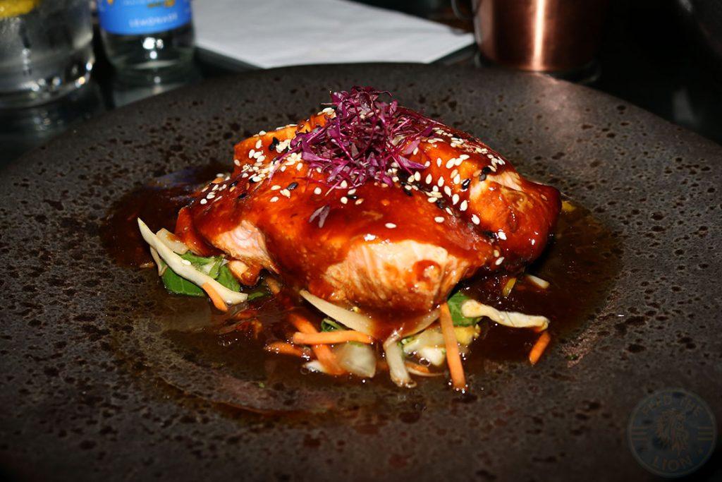 Aurous Salmon Manchester Halal restaurant