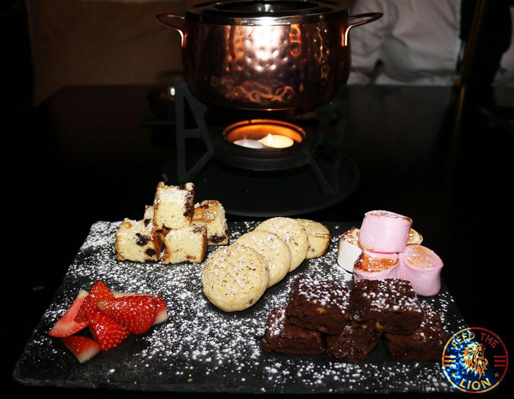 Aurous Chocolate Fondue Manchester Halal restaurant