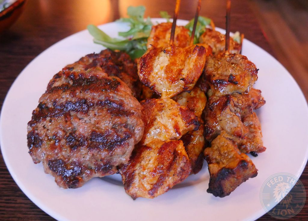 mixed grill The Iskelé Turkish Halal restaurant London Barbican Kebab