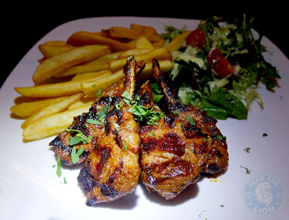 The Iskelé Turkish Halal restaurant London Barbican Lamb Cutlets