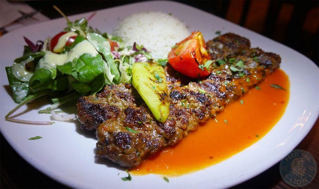 The Iskelé Turkish Halal restaurant London Barbican Adana Kebab