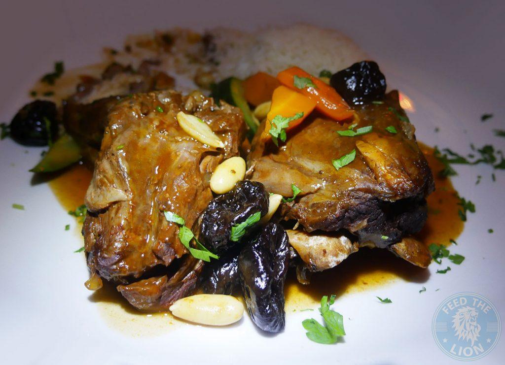 The Iskelé Turkish Halal restaurant London Barbican Lamb Tagine