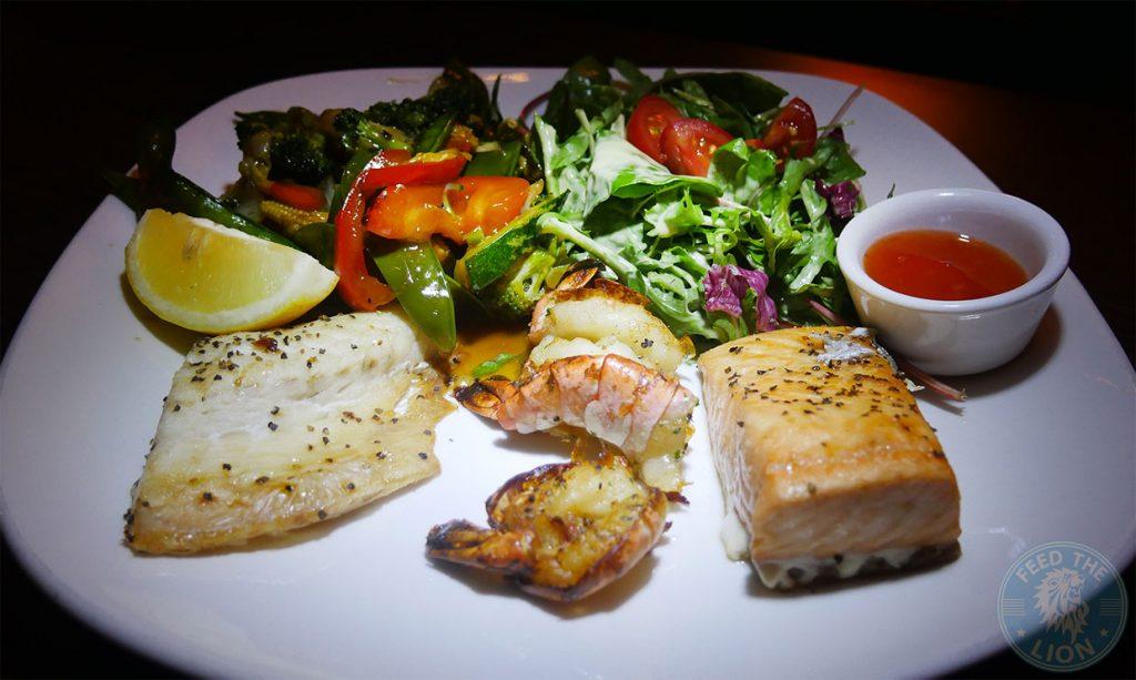 The Iskelé Turkish Halal restaurant London Barbican Fish Seafood Kebab