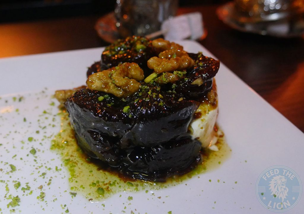 dessert Iskelé Turkish Halal restaurant London Barbican Kebab