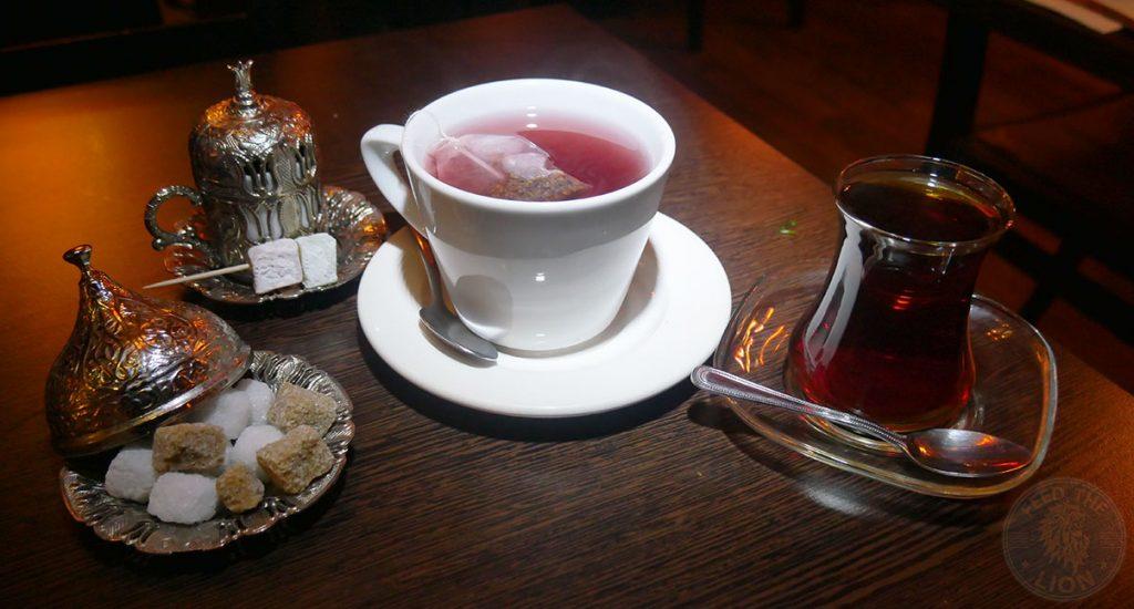 Iskelé Turkish Halal restaurant London Barbican Kebab tea coffee