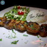 The Iskelé Lamb Skewer Turkish Halal restaurant London Barbican Kebab
