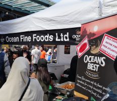 Oceans Best London Halal Food Festival blogger foodie 2017