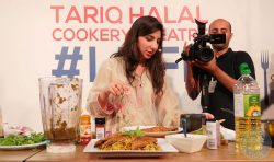 Masterchef Saliha Cooks London Halal Food Festival blogger foodie 2017 meat