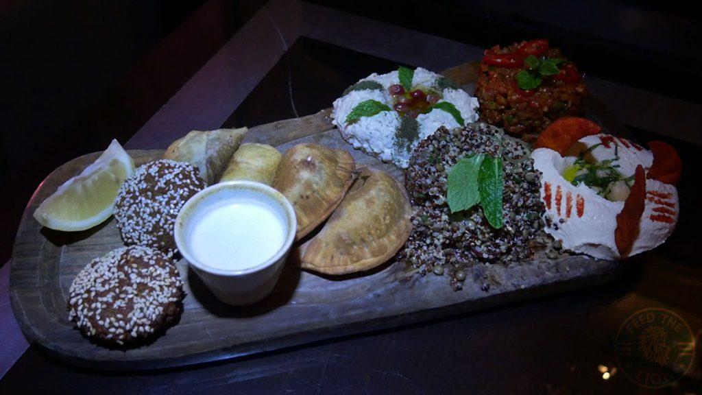 Manounia Lounge Halal London Knightsbridge Restaurant Mezes