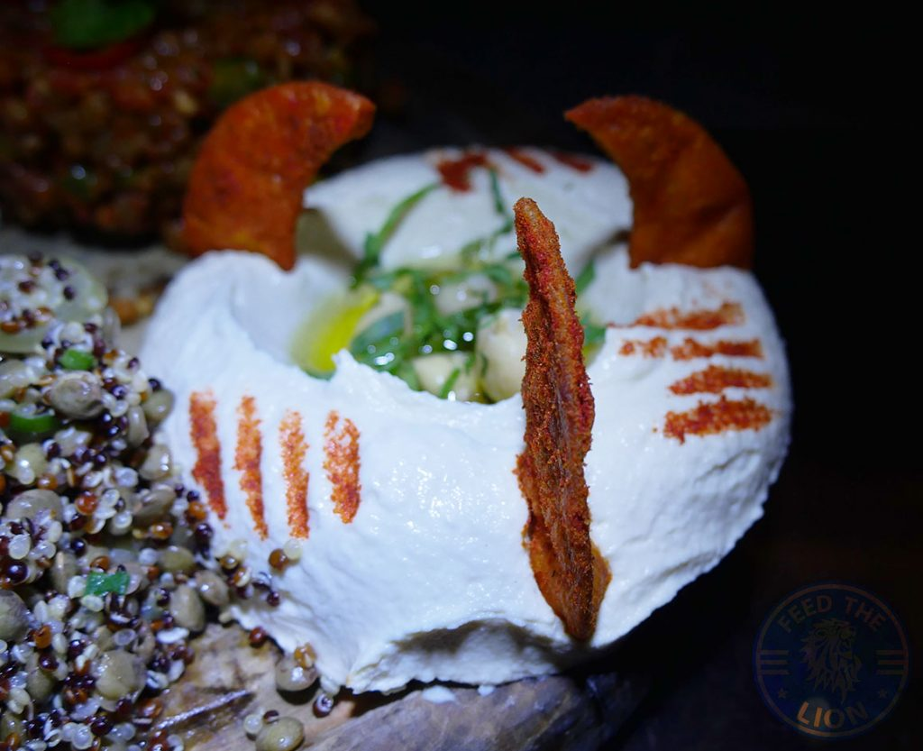Manounia Lounge Halal London Knightsbridge Restaurant cold meze