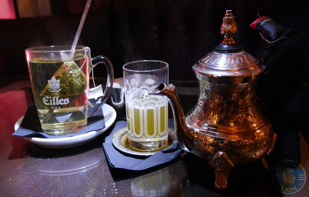 Manounia Lounge Halal London Knightsbridge Restaurant tea