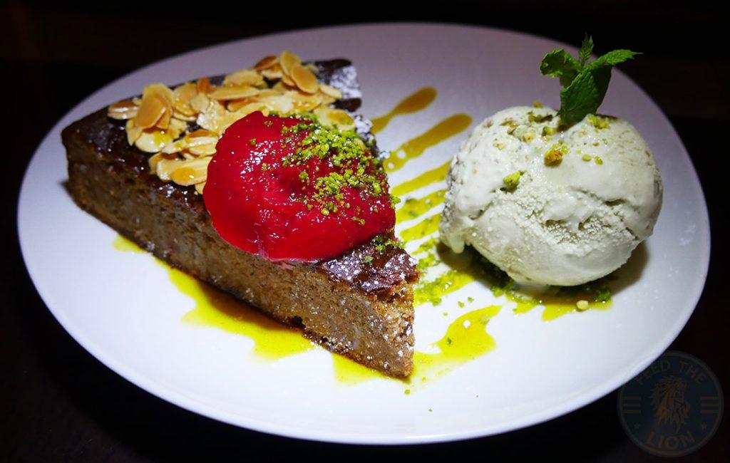 Manounia Lounge Halal London Knightsbridge Restaurant Dessert Cake