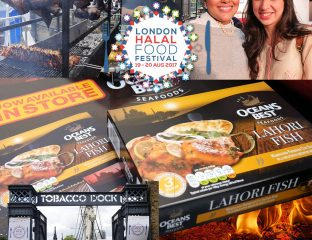 Oceans Best Oceans Best London Halal Food Festival blogger foodie 2017