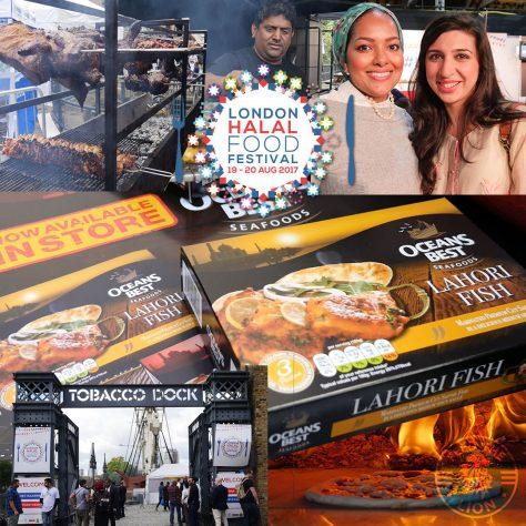 Oceans Best Oceans Best London Halal Food Festival blogger foodie 2017