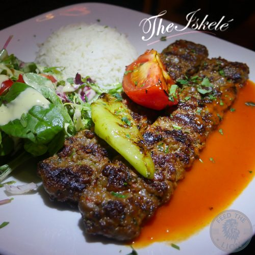 british kebab award winner The Iskelé Turkish Halal restaurant London Barbican Kebab