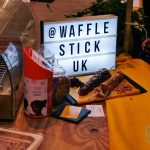 Street Eats Halal Gems Spitafields Market Food Waffle stick