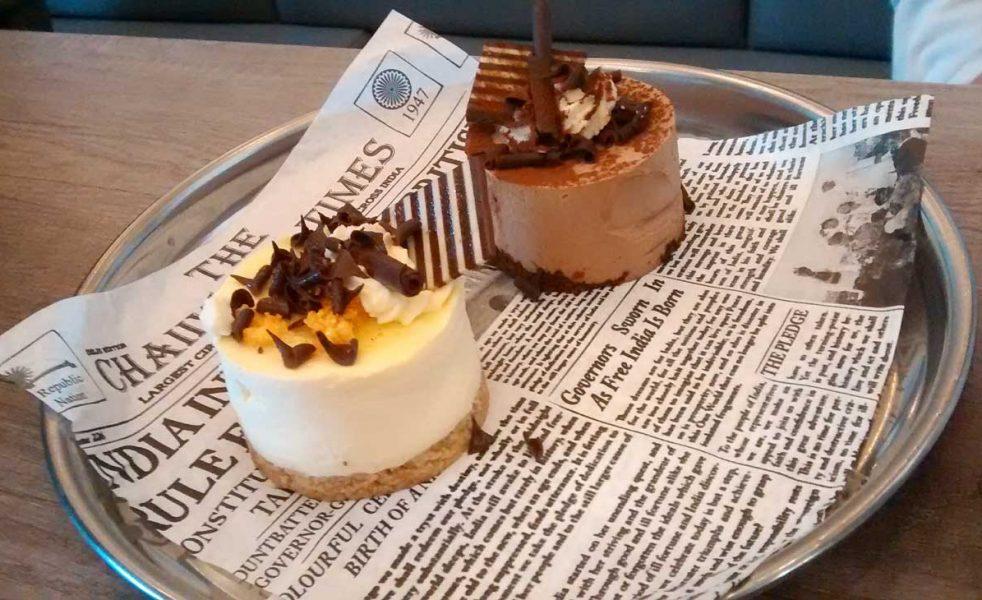 Cheesecakes £3.50 each