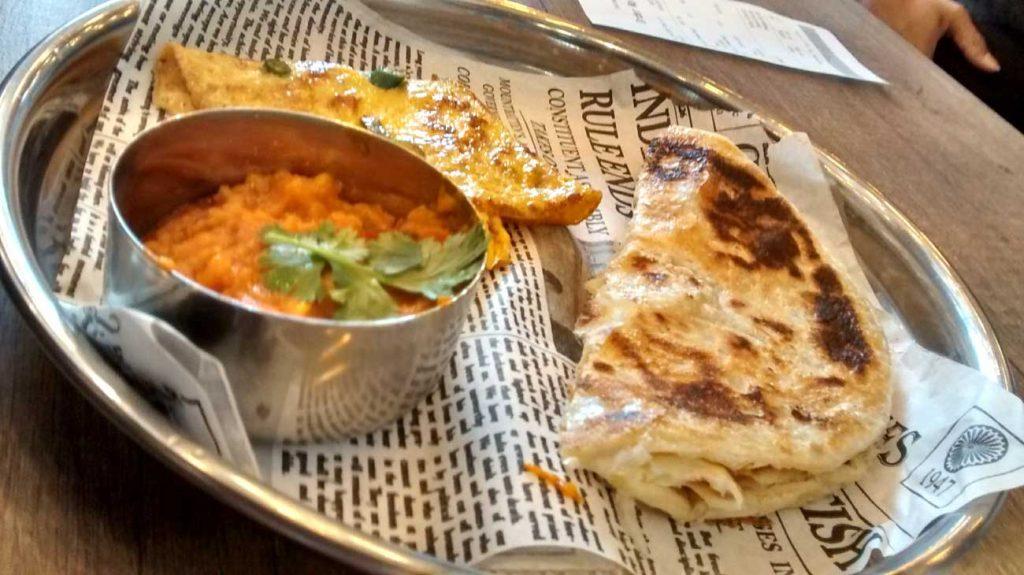 Chaiiwala Birmingham Indian Desi Breakfast Tea Chai Daal Roti