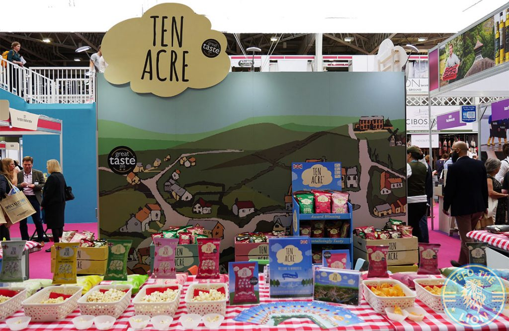 Ten Acre The Toasted Seed Speciality & Fine Food Fair Olympia Halal