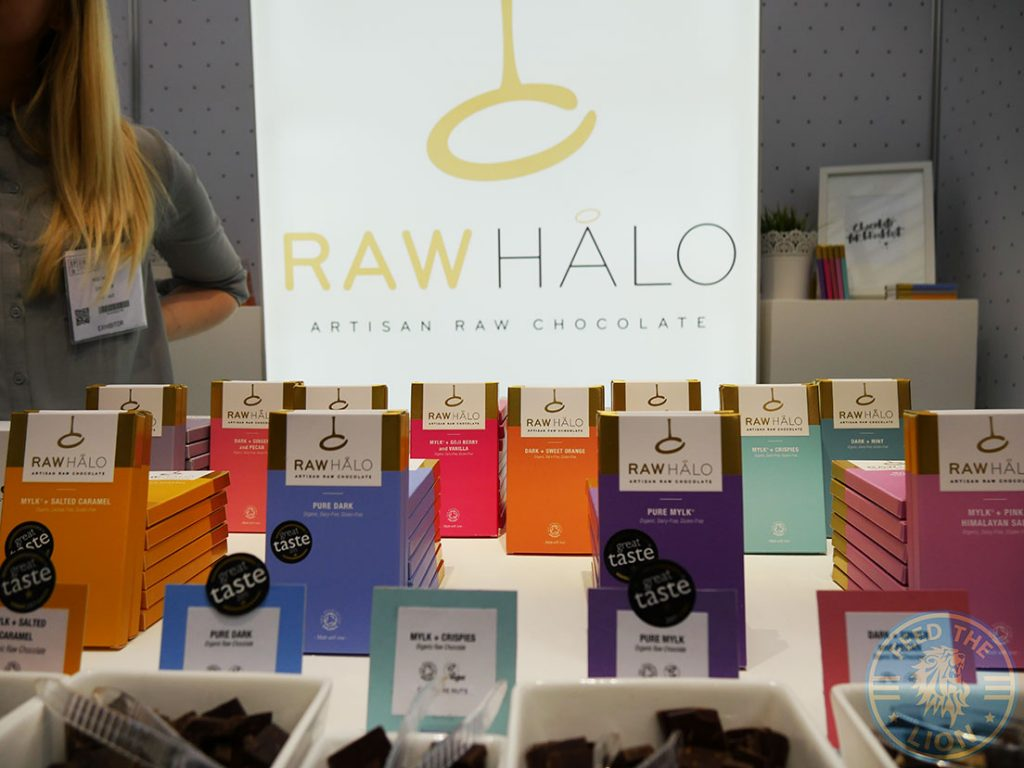 Raw Halo Speciality & Fine Food Fair Olympia Halal