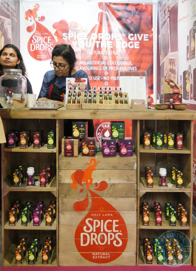 Spice drops Speciality & Fine Food Fair Olympia Halal