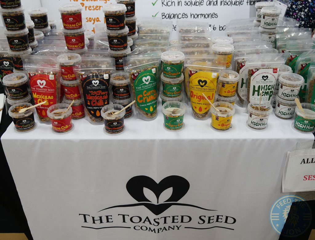 The Toasted Seed Speciality & Fine Food Fair Olympia Halal