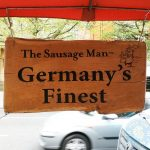 The Sausage Man Germany Frankfurt Halal Ealing Broadway Market popup stall